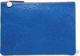 Clare Vivier Supreme croc-effect leather clutch