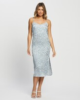 Thumbnail for your product : Only Women's Blue Midi Dresses - Maaria Dress - Size One Size, 38 at The Iconic