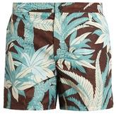 Valentino Palm tree-print swim shorts
