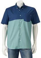 Vans Men's Colorblock Button-Down Shirt