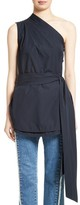 Stella McCartney Women's One-Shoulder Cotton Tunic