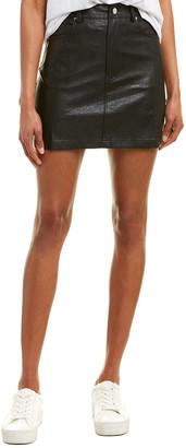 City Sleek Five-Pocket Mini Skirt