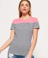 Superdry Pop Breton T-shirt