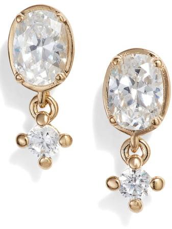 Nadri Issa Small Drop Earrings