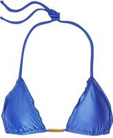Vix Undersea Ripple triangle bikini top