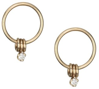 Zoë Chicco Diamond & 14K Yellow Gold Ring Studs