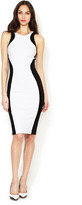 Torn By Ronny Kobo Shirdan Mini Colorblock Dress