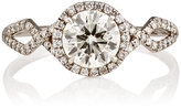 Monique Pean Mineraux Women's Brilliant-Cut White Diamond Ring