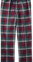 Charles Tyrwhitt Burgundy check cotton pyjama pants