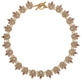 Marchesa Ornate Collar Necklace, 16""