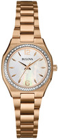 Bulova Women&s Diamond Bracelet Watch
