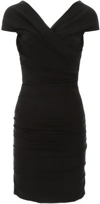 Dolce & Gabbana Off-The-Shoulder Mini Dress