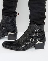 Jeffery West Manero Leather Jodphur Boots