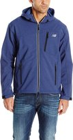 New Balance Men's Heather Print Soft Shell Hoodie