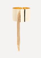 Bebe Metal Fringe Bracelet