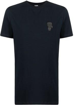 Karl Lagerfeld Paris motif crew-neck T-shirt