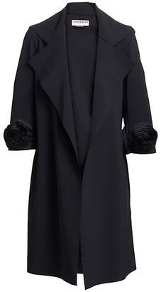 Chiara Boni Margit Rose Trench Coat