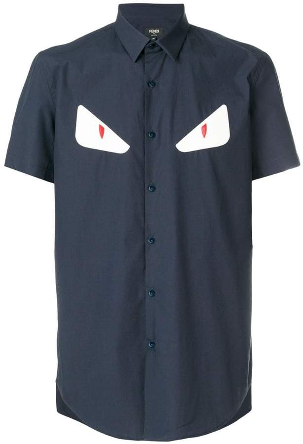 3f3f93835a79 Fendi Monster Shirt Men - ShopStyle