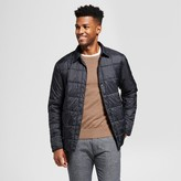 Goodfellow & Co Men's Standard Fit Quilted Packable Shirt Jacket - Goodfellow & Co Black