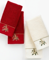 Lenox Bath Towels, Ribbon and Holly Collection