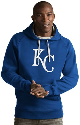 Antigua Men's Kansas City Royals Victory Logo Hoodie