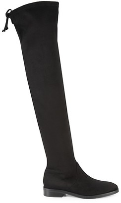 Stuart Weitzman Jocey Over-The-Knee Faux Suede Boots