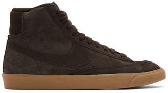 Nike Brown Suede Mid77 Sneakers