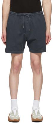 Schnaydermans Black Cotton Jersey Shorts