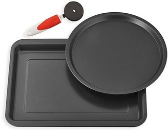 Ballarini Cookin' Italy 3-Piece Pizza Pan Set
