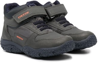 Geox Kids Touch-Strap Low-Top Sneakers