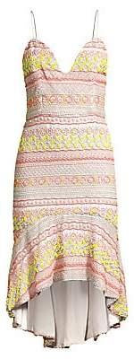 Alice + Olivia Women's Amina Beaded Sweetheart Dress - Size 0