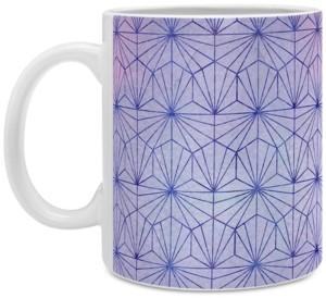 Deny Designs Hello Sayang Geo Coffee Mug