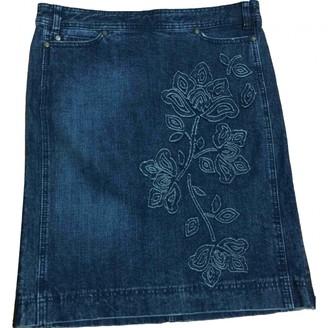 Philosophy di Alberta Ferretti Blue Denim - Jeans Skirt for Women