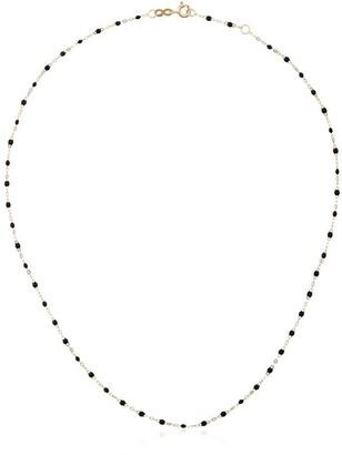 Gigi Clozeau 18kt yellow gold Classic Gigi black beaded necklace