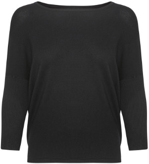 Saint Tropez Mila Sweater Black - XL.
