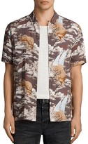 AllSaints Sumatra Short Sleeve Slim Fit Shirt