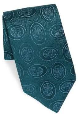 Charvet Silk Bubble-Print Tie