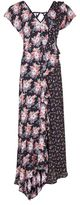 Topshop Splice d-ring maxi dress