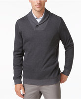 Tasso Elba Men's Shawl Collar Pullover, Only at Macy's
