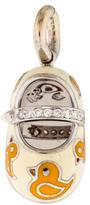 Aaron Basha 18K Rubber Duckie Diamond Shoe Charm