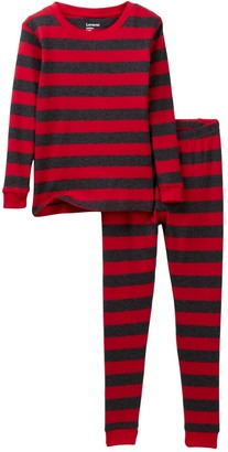 Leveret Two-Piece Pajama Set (Baby, Toddler, Little Boys, & Big Kids)