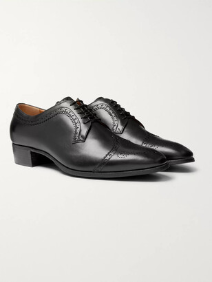 Gucci Leather Brogues
