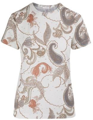 See by Chloe Openwork t-shirt