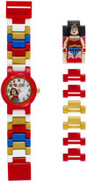 Lego DC Universe Super Heroes Wonder Woman Kids Watch with Mini Figure
