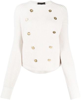 Giorgio Armani Buttons Embellishments Jumper