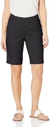 Jag Jeans Women's Petite Gracie Pull on Bermuda Short