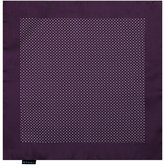 EEHD0011 Purple Polk Dots Microfiber Pocket Square Sale For Marriage Hanky By Epoint
