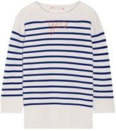 LINGUA FRANCA Yes Stripe Sweater
