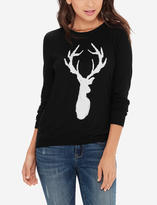The Limited Deer Intarsia Sweater
