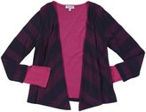Splendid Quebec Stripe L/S Wrap - Navy/Dragonfruit-14
